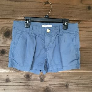 Forever 21 XXi Blue Front Pleated Shorts Size 26